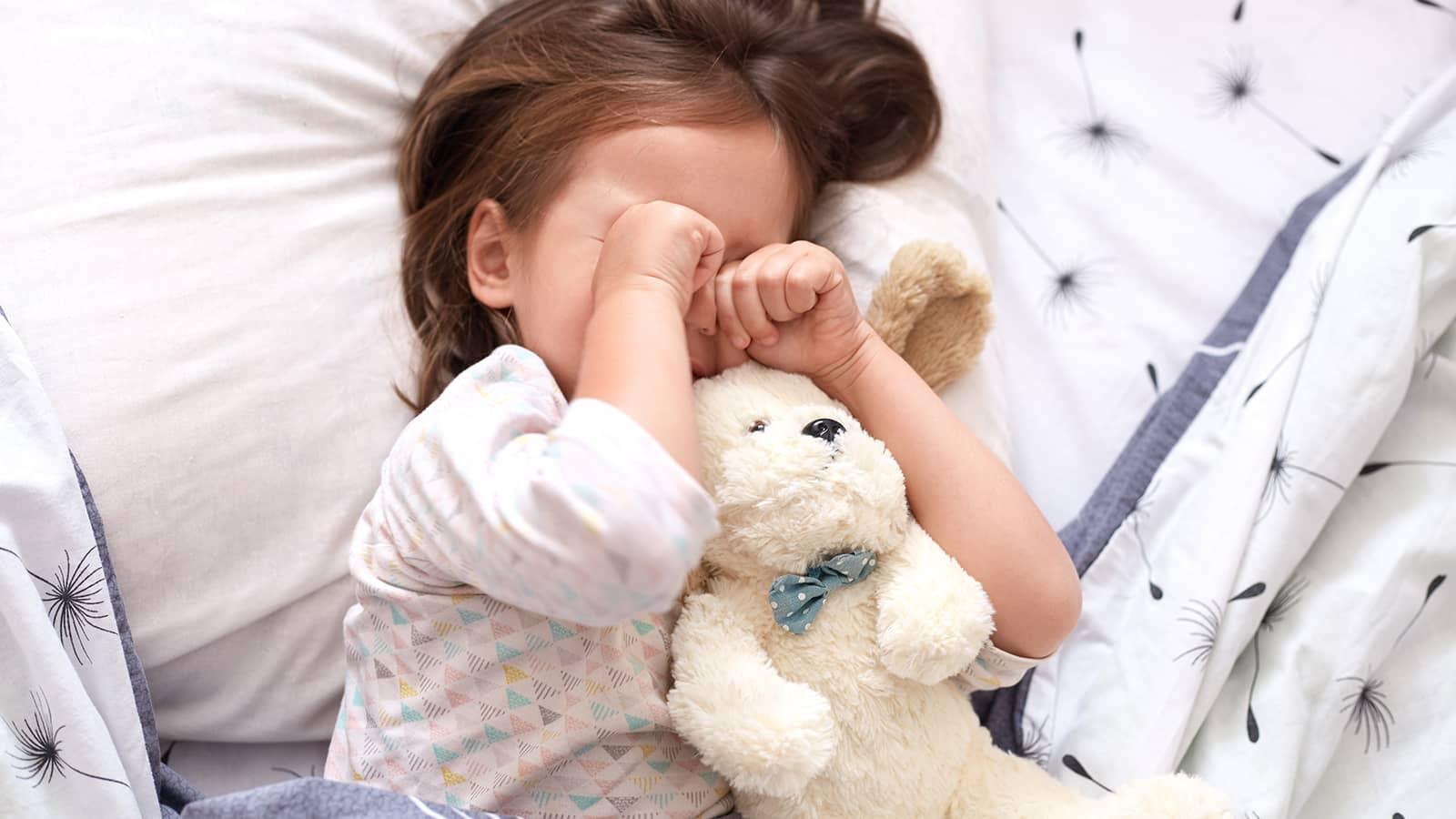 眠れない子への対応