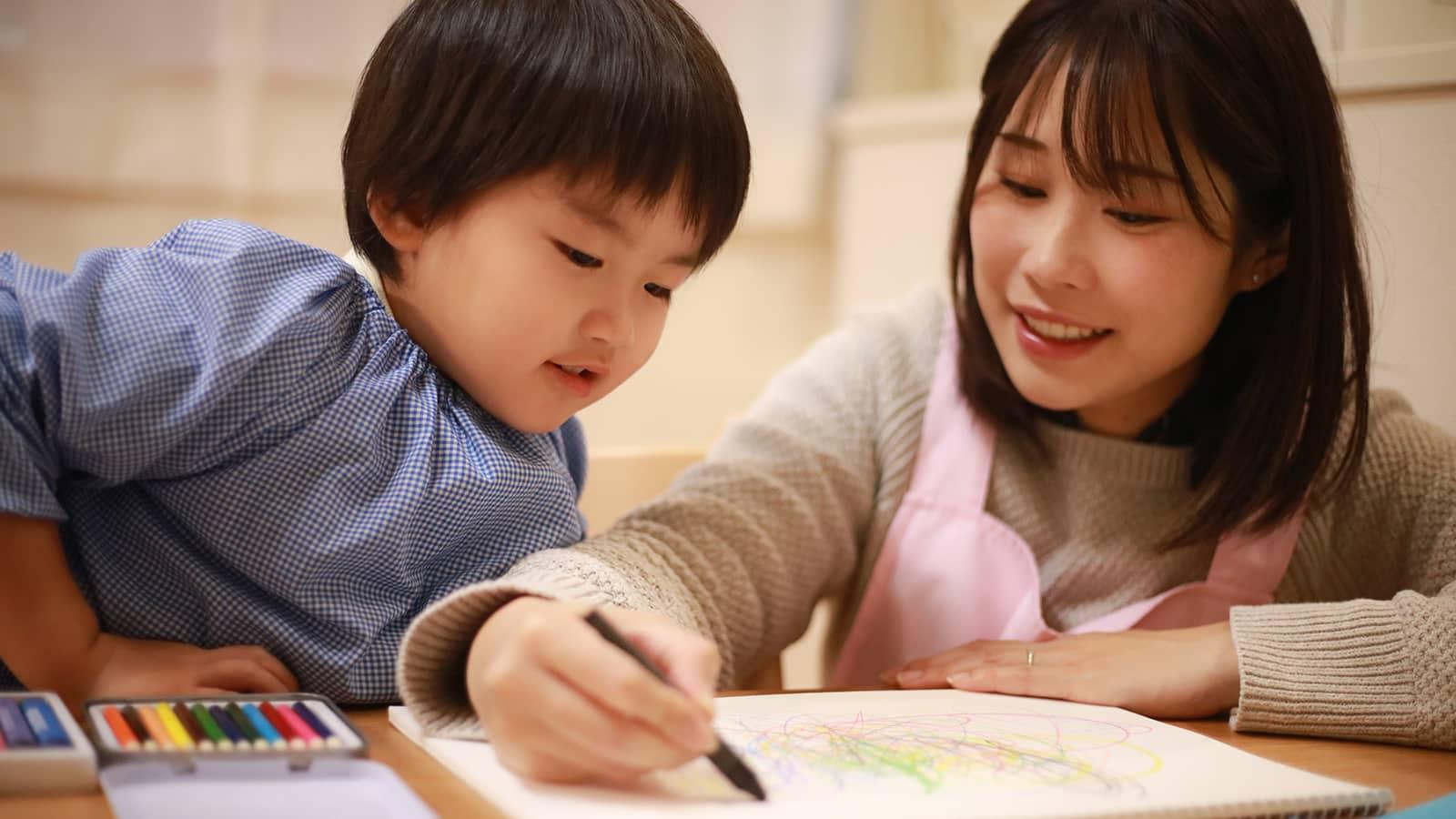 保育園で行う絵描き歌の注意点